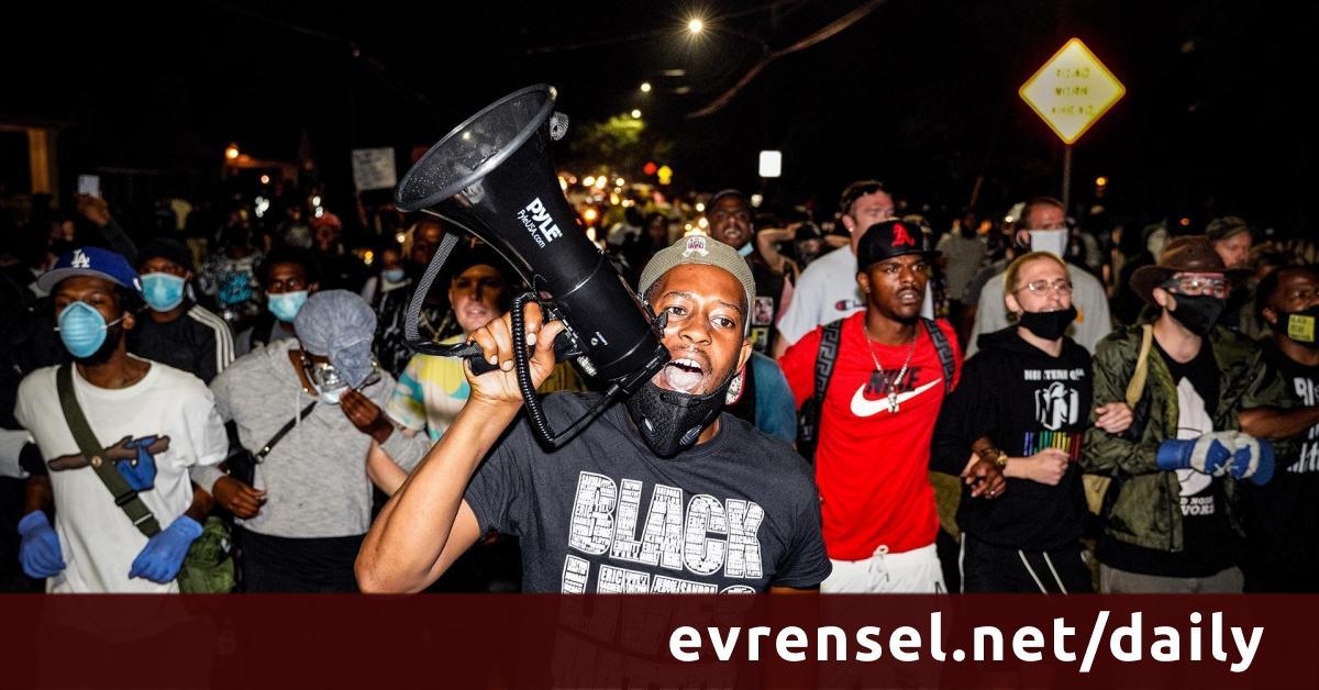 The Banner of Black Lives Matter: Summer 2020 - Evrensel Daily